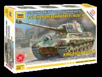 Zvezda King Tiger AUSF. B Kit Modellismo Militare