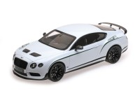 MODEL BENTLEY GT3-R WHITE 2015 ALMOST REAL