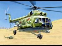 Zvezda MIL Mi-8T Modellino Elicottero in Kit di Montaggio