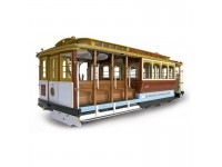ARTESANIA LATINA CABLE CAR DI SAN FRANCISCO KIT MODELLISMO IN LEGNO