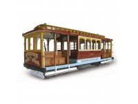 ARTESANIA LATINA CABLE CAR CALIFORNIA STRRET KIT MODELLISMO IN LEGNO