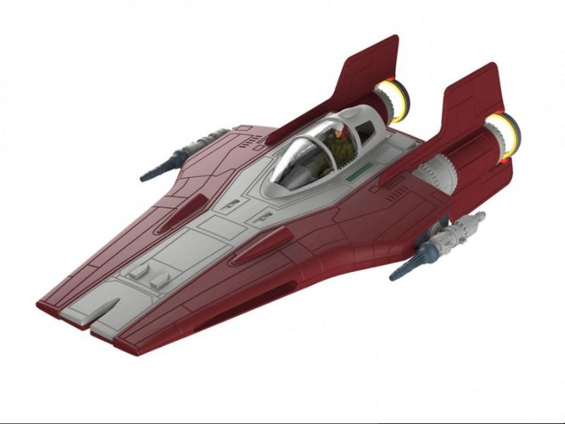 revell resistance a wing fighter rosso modello da montare. Black Bedroom Furniture Sets. Home Design Ideas