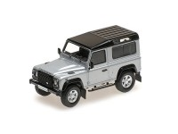 MODELLINO LAND ROVER DEFENDER 90 ARGENTO 2014 ALMOST REAL