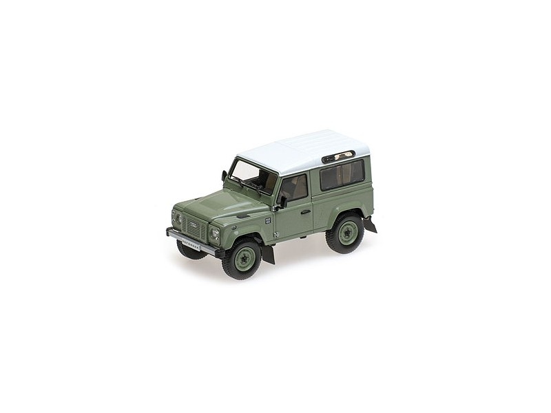 MODELLINO 1/43 LAND ROVER DEFENDER 90 HERITAGE EDITION VERDE 2015 ALMOST REAL