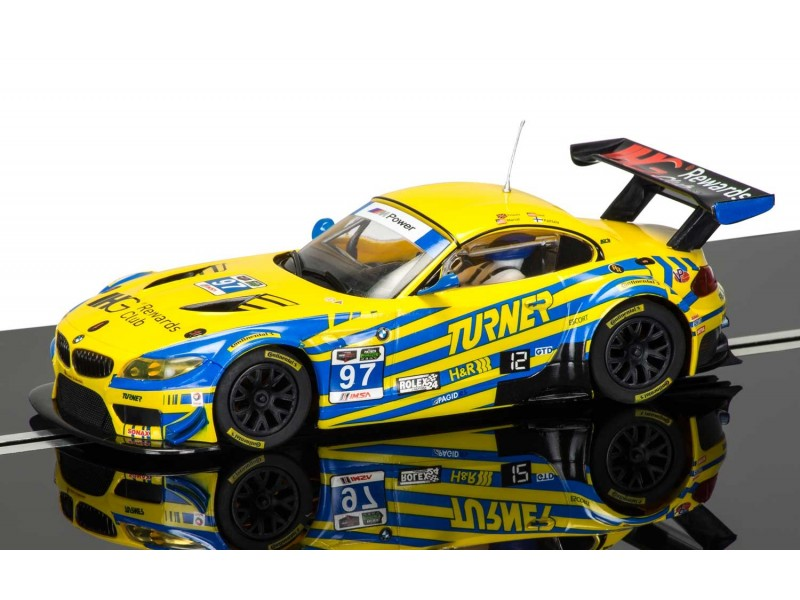scalextric bmw z4 gt3 daytona 24h 2015 modellino slot car. Black Bedroom Furniture Sets. Home Design Ideas