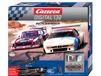 Carrera Pista Elettrica Digitale 80' flashback Ford capri zakspeed turbo vs bmw m1 procar