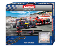 Carrera Pista Elettrica Digitale Top rivals Ferrari F138 vs Red Bull RB9