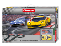 Carrera Pista Elettrica Analogica Extreme Power Corvette c7r vs Ford gt