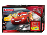 Carrera Pista Elettrica Analogica Disney Pixar cars 3 Lightning McQueen vs Dinoco Cruz