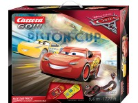 Carrera Pista Elettrica Analogica Disney Pixar cars 3 Ride the track