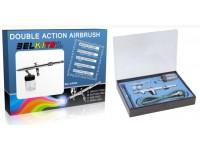 Belkits Set Aerografo ad Aspirazione doppia azione
