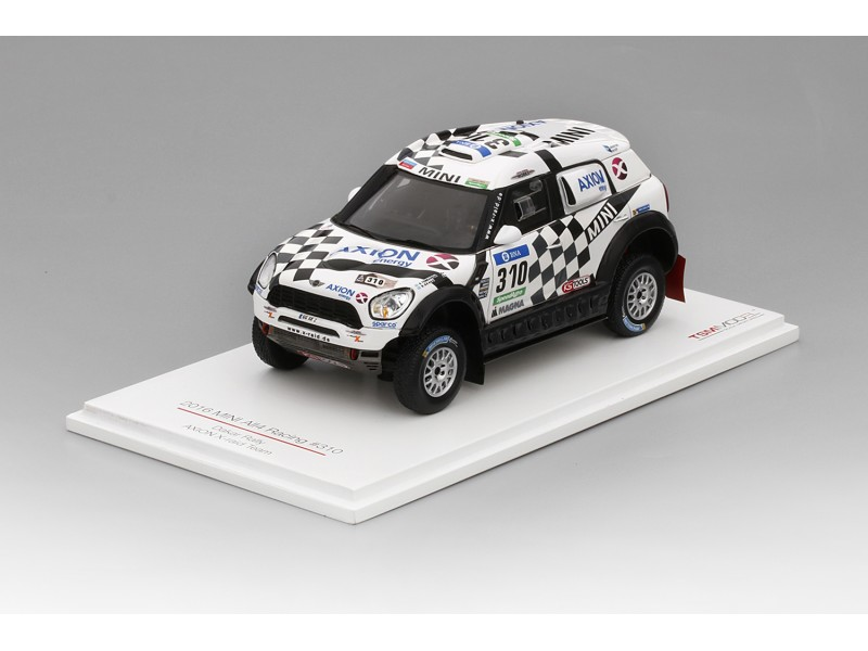 TSM MODEL 1/43 MINI ALL4 RACING N.310 AXION X-RAID TEAM RALLY DAKAR 2016 MODELLINO