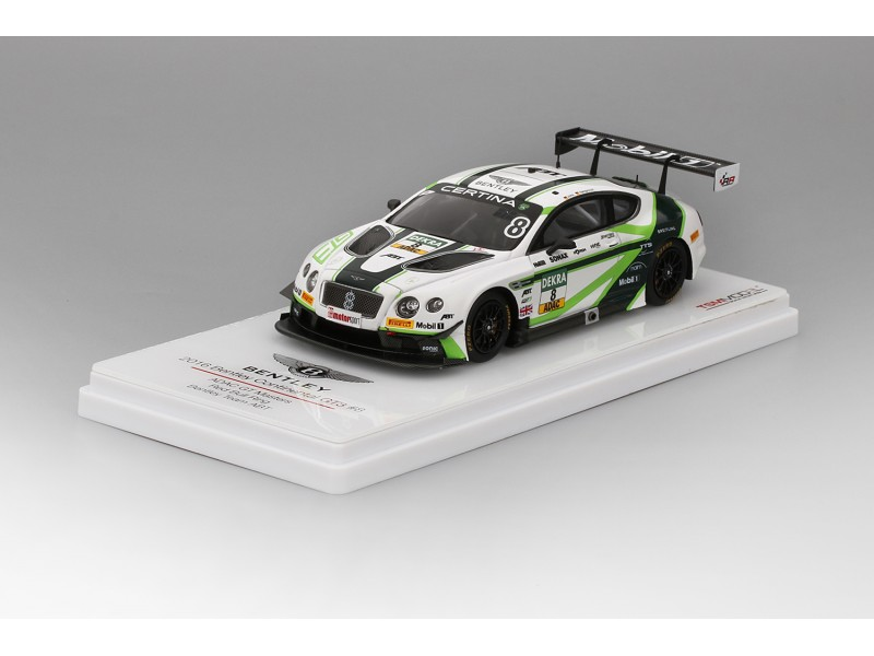 TSM MODEL BENTLEY CONTINENTAL GT3 N.8 ADAC GT MASTERS 2016 MODELLINO