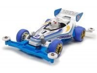 Tamiya Mini 4WD Racing Series Shirokumakko Kit di Montaggio