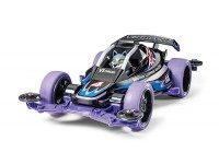 Tamiya Mini 4WD Racing Series Lupine Racer Kit di Montaggio