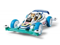 Tamiya Mini 4WD Racing Series Dog Racer Kit di Montaggio