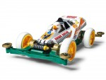 Tamiya Mini 4WD Racing Series Hawk Racer Kit di Montaggio