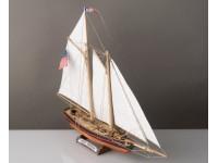 Yacht America Kit di Montaggio Modellismo Navale in Legno Corel Line