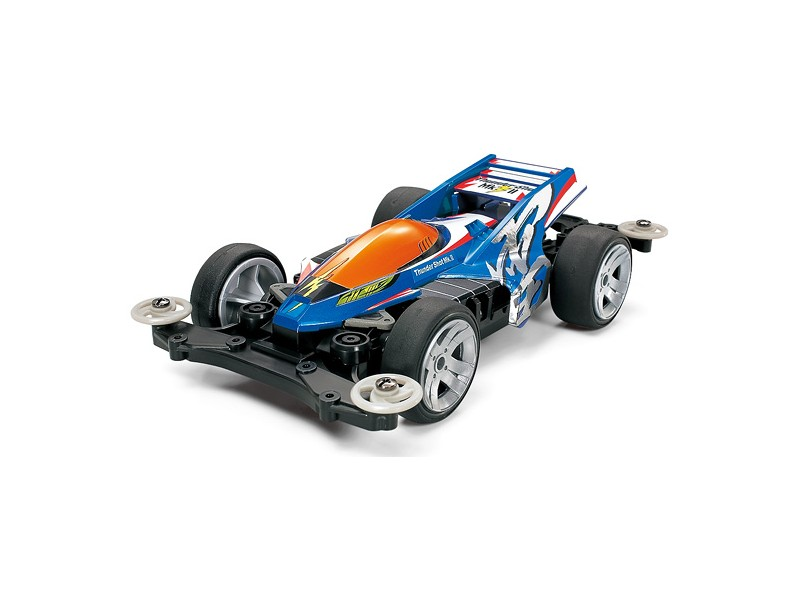 Tamiya Mini 4WD PRO Series Thunder Shot Mk.II Kit di Montaggio