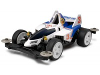 Tamiya Mini 4WD PRO Series DASH-3 SHOOTING STAR Kit di Montaggio