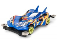 Tamiya Mini 4WD PRO Series Spin-Axe Mk.II Kit di Montaggio