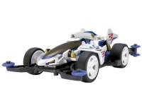 Tamiya Mini 4WD PRO Series Shooting Proud Star Kit di Montaggio
