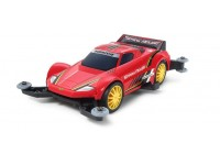 Tamiya Mini 4WD PRO Series Spark Rouge Kit di Montaggio