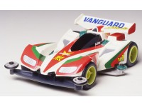 Tamiya Mini 4WD Fully Cowled Series Vanguard Sonic Kit di Montaggio