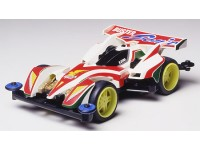 Tamiya Mini 4WD Fully Cowled Series Buster-Sonic Kit di Montaggio