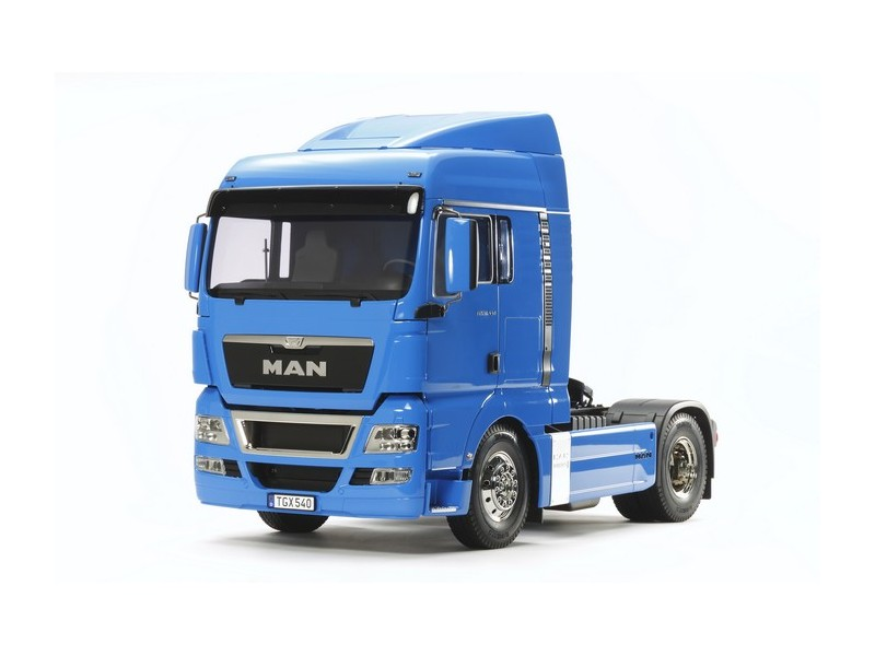 Tamiya MAN TGX 18.540 4x2 XLX French Blue Edition Kit di Montaggio Radiocomandato