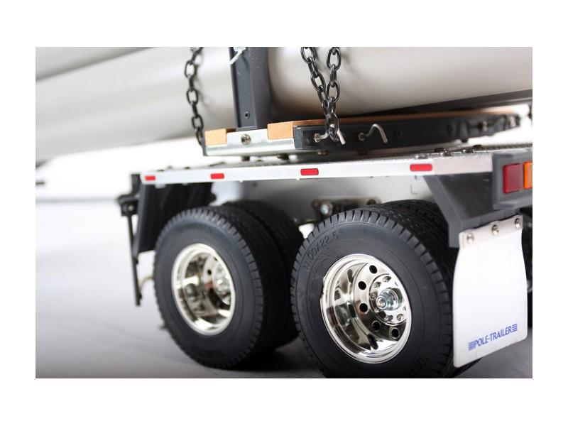 kit rimorchio trasporto tubi per camion rc tamiya 1 14. Black Bedroom Furniture Sets. Home Design Ideas