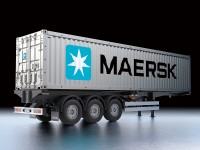 Kit Rimorchio Container Maersk per Camion RC Tamiya 1/14