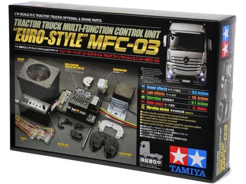 Unita' di Controllo Multifunzione Euro Style per Camion RC Tamiya