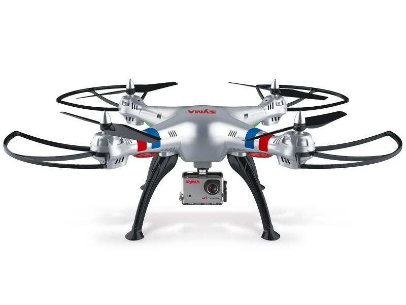 Syma Drone X8G 5MP HD Camera Quadricottero a Controllo Remoto a 4 Canali