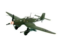 Revell Junkers Ju 87 G/D Tank Buster Aereo in Kit di Montaggio