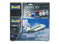Revell Boeing 727-100 GERMANIA Model Set con Colori
