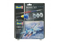 Revell Suchoi Su-27 Flanker Model Set con Colori