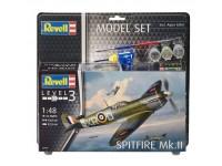 Revell 1/48 Spitfire Mk.II Model Set con Colori