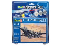 Revell F-15E STRIKE EAGLE Model Set con Colori
