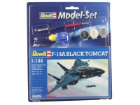 Revell 1/144 F-14A Black Tomcat Model Set con Colori