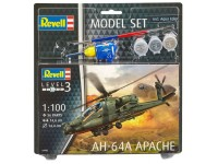 Revell AH-64A Apache Model Set con Colori