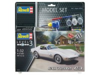 Revell Corvette C3 Model Set con Colori