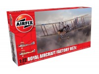 Airfix Royal Aircraft Factory BE2c Scout Modellino in kit di Montaggio