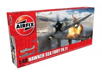 Airfix Hawker Sea Fury FB.II Modellino in kit di Montaggio