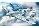 ICM Spitfire Mk.VII Modellino in kit di Montaggio