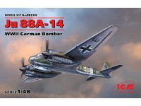 ICM Bombardiere Multiruolo Ju 88A-14 Modellino in kit di Montaggio