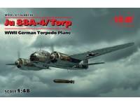 ICM Ju 88A-4/Torp Modellino in kit di Montaggio
