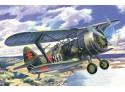 ICM Caccia Biplano Sovietico I-15 bis Modellino in kit di Montaggio