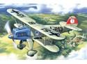 ICM Caccia Biplano He 51A-1 Modellino in kit di Montaggio