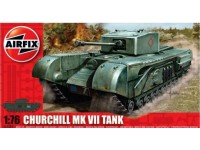 Airfix Carro Armato Churchill MkVII Modellino in kit di Montaggio